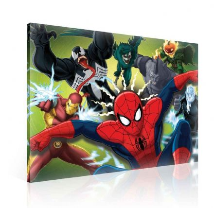 Marvel Spiderman Canvas 80x60cm